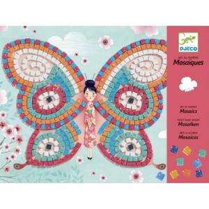 Mozaikkép készítő – Pillangók (Djeco, 8898)
