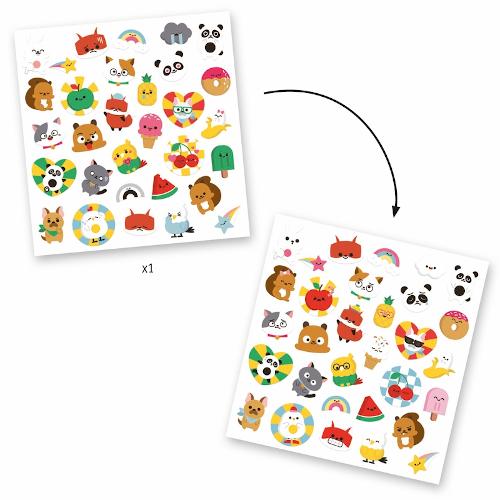 Matrica készlet - Emoji