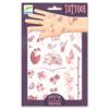 Tetováló matricák - Nyári hangulat - Hello Summer (DJ9597)