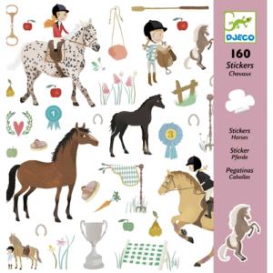 Matrica készlet – lovak