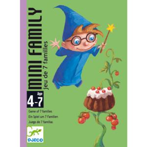 Kártyajáték –  Mini Family (Djeco, 5101)