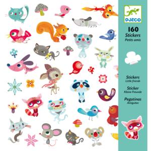 Matrica készlet – kis barátok – állatok