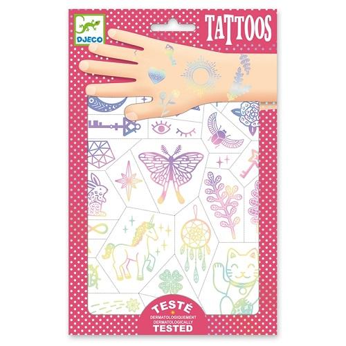 Tetováló matricák - Talizmánok - Lucky charms (DJ9596)