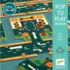 Variálható autópálya puzzle (Djeco, 7162)