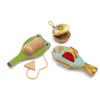 Játékhangszer készlet - Cymbal-castanet-guiro (Djeco, 6020)