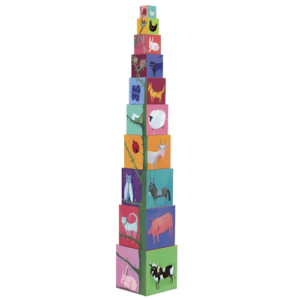 Toronyépítő kocka – Természet és állatok