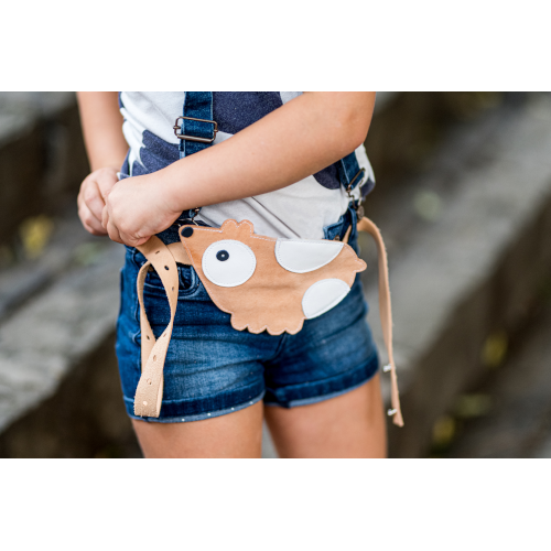 Zsebtáska - barna tengerimalac