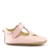 FRODDO - Puhatalpú bőr gyerkcipő az első lépésekhez - rózsaszín szandál