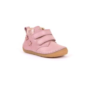 FRODDO – Átmeneti, magasszárú, bőr gyerekcipő  – rózsaszín