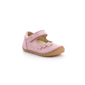FRODDO – nyitott gyerekcipő – zárt szandál –  rózsaszín, virágos