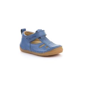 FRODDO – nyitott gyerekcipő – zárt szandál –  farmerkék