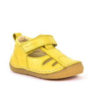 FRODDO – nyitott gyerekcipő – zárt szandál –  sárga