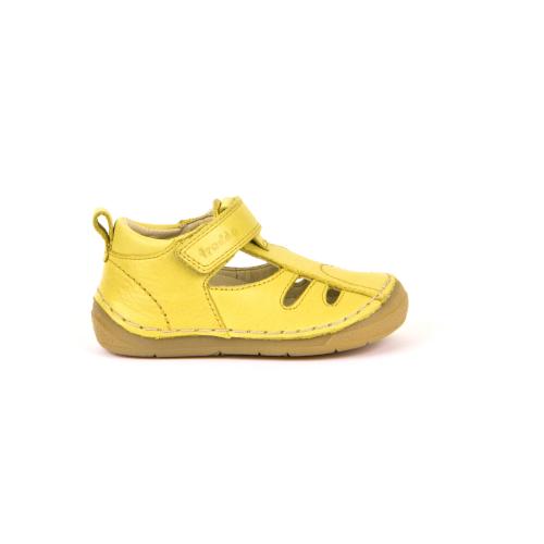 FRODDO - nyitott gyerekcipő - zárt szandál - sárga