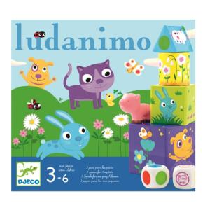 3 az 1-ben társasjáték – Ludanimo (Djeco, 8420)