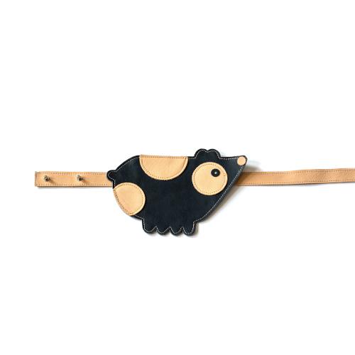 Zsebtáska - sötétkék tengerimalac
