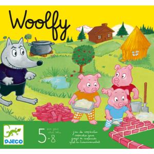 Kooperatív társasjáték – A három kismalac – Woolfy (Djeco, 8427)