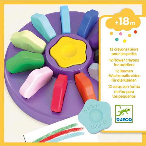 Marokkréta gyerekeknek - 12 szín (Djeco 9005)