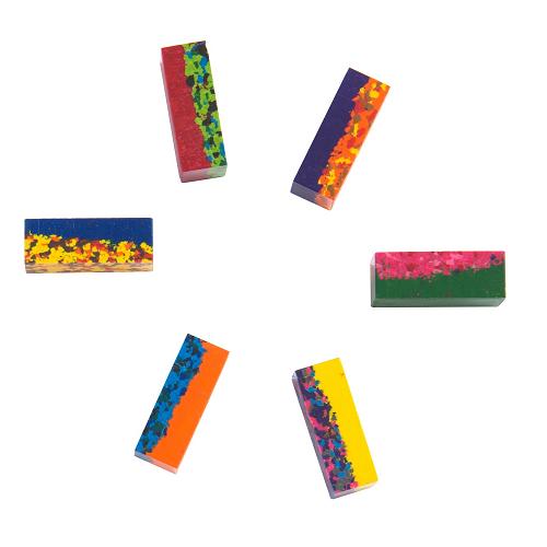 Moulin Roty - Több színű zsírkréta - 6 db-os