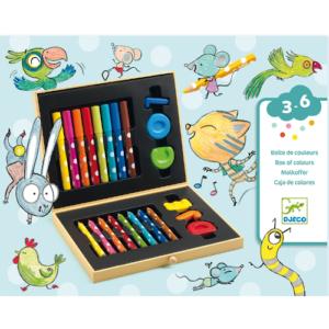 Kreatív színező készlet – Kicsiknek (Djeco 9010)