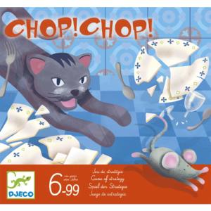 Társasjáték – Macska-egér fogócska – Chop Chop (Djeco, 8401)