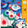Festő szett - Vadállatok (Djeco 9658)
