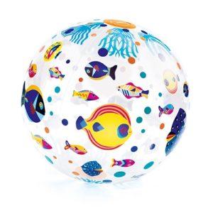 Strandlabda – Felfújható labda – Halak (Djeco 0170)