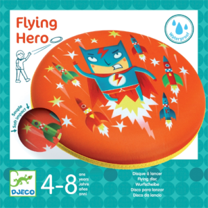 Frizbi – Repülő hős (Djeco 2034)