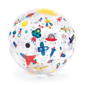 Strandlabda – Felfújható labda – Űr (Djeco 0172)