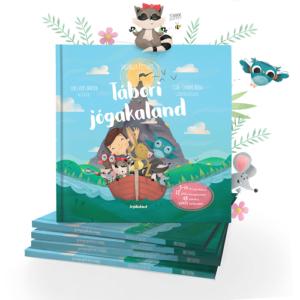 Jógakaland – Tábori jógakaland – mesekönyv