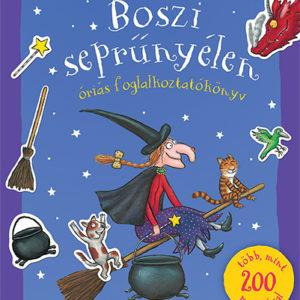 Pozsonyi Pagony – Boszi seprűnyélen – Óriás foglalkoztatókönyv