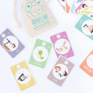 Jógakaland – Jógakaland kártyajáték