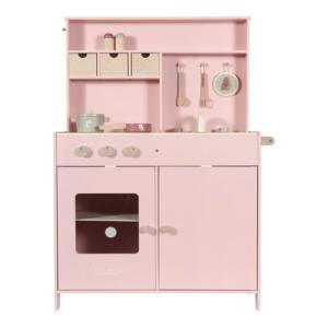 Little Dutch – fa játékkonyha – rózsaszín