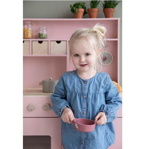 Little Dutch - fa játékkonyha - rózsaszín