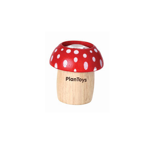 PlanToys - Gombás kaleidoszkóp - piros