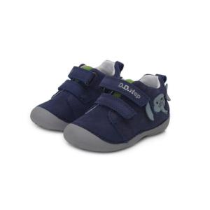 D.D Step – Átmeneti gyerekcipő – zárt cipő – sötétkék elefántos – fiú