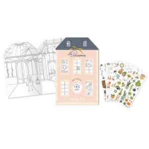 Moulin Roty – Matricázó és színező album – Párizs