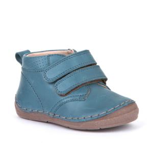 FRODDO – Átmeneti, magasszárú, bőr gyerekcipő – kék