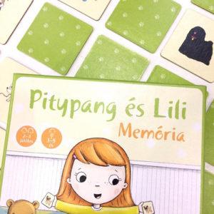 Pagony Játék – Pitypang és Lili memória