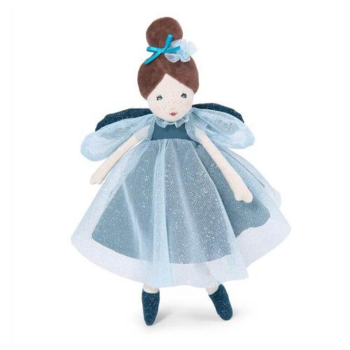 Moulin Roty - Kis, kék ruhás tündér baba
