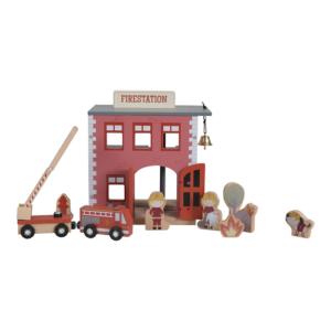 Little Dutch – Városi vasút kiegészítő – Tűzoltóállomás