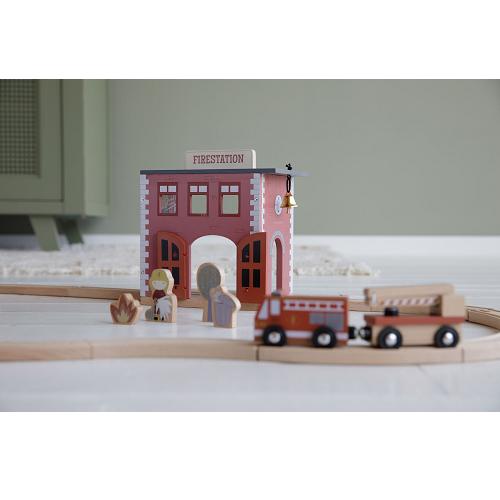 Little Dutch - Városi vasút kiegészítő - Tűzoltóállomás