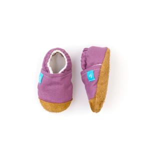Puhatalpú kiscipő az első lépésekhez – Lila