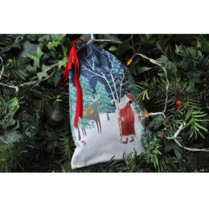 Mikulászsák – Woodland Santa