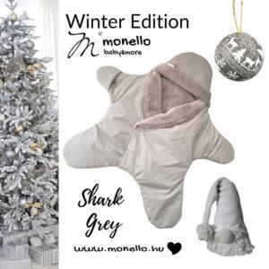 Monello - Babamelegítő kiscsillag - téli, vízlepergető - Szürke