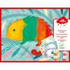 Kreatív készlet - Tapicskolós festék szett (Djeco 9878)