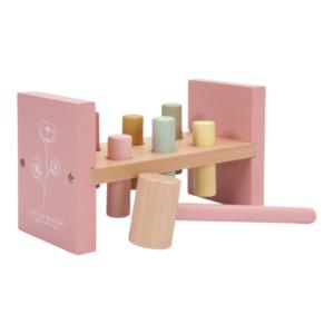 Little Dutch – Kalapálós játék – rózsaszín