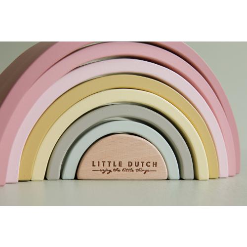 Little Dutch - Fa szivárvány - rózsaszín