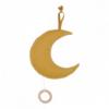 Little Dutch - Okkersárga hold - felhúzható zenélő babajáték