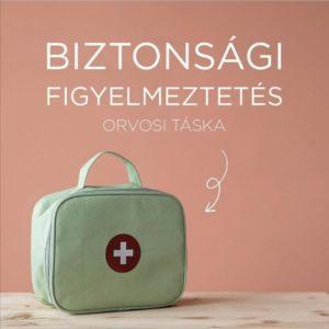 Little Dutch – Orvosi táska – biztonsági figyelmeztetés