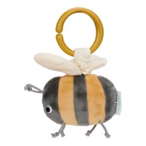 Little Dutch – Felhúzható rezgő babajáték – plüss méhecske